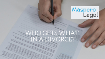 Who gets what in a divorce?