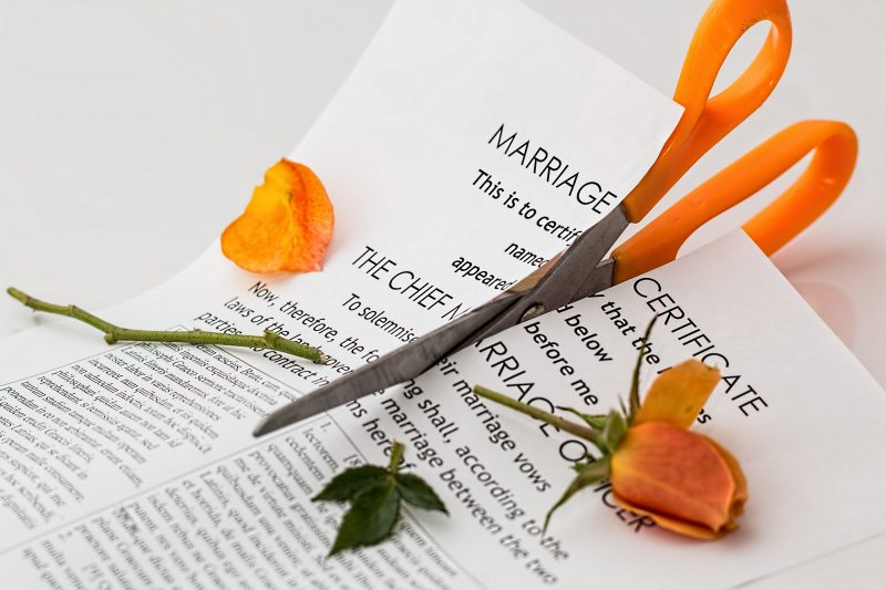 Are assets during a divorce split 50/50?